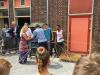 Opening zijtuintje door Rotary